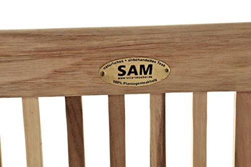 SAM Möbel Outlet Gartenschaukel Susana aus Teak Holz