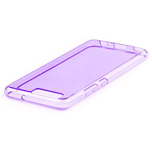 Coque Huawei P10 - Ultra Mince Protection en TPU Silicone Housse Etui Coque Pour Huawei P10 - Transparent Transparent Violet