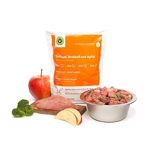 Barf Hundefutter, Frischfutterpaket für Hunde von Pets Deli – 20 x 200g oder 400g Barf Menüs ohne Kohlenhydrate (getreidefrei) (200g) - 6