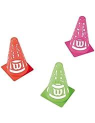 Wilson Safe Cones(6Pack) - Conos , multicolor, talla NS