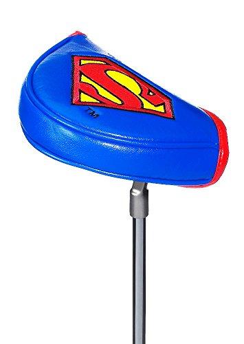 Coprimazza Da Golf/Putter Cover * Superman * (Super Eroe) con Chiusura Magnetica-adatto per tutti i tipi di Mallet Putter
