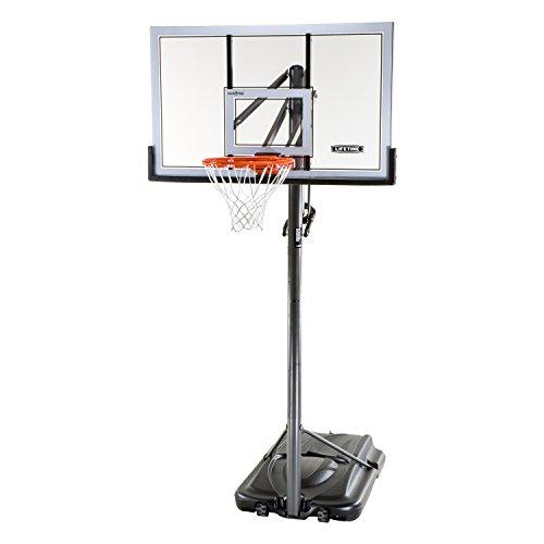 Lebenslange 71522, 137,2cm Stahl gerahmt Portable Basketball-System
