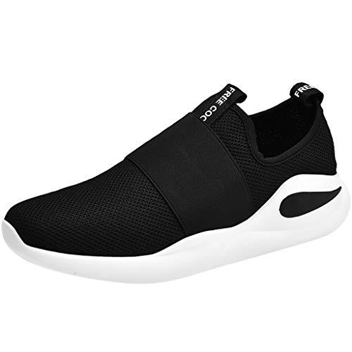 Kolylong® Herren Laufschuhe Fitness Straßenlaufschuhe Sneaker Sportschuhe Atmungsaktiv rutschfeste Mode Freizeitschuhe für Running Fitness Gym Outdoor 39-46
