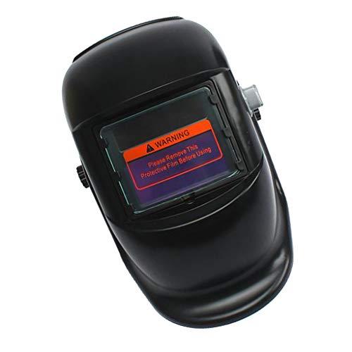 Fenteer Automatik Schweißmaske Schweißschild Automatikhelm, Automatisch Verdunkelung - Quadratisch