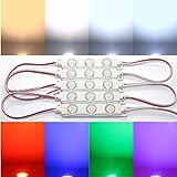 10x LED Module SMD Chip warmweiß Kaltweiß Lumen Top Injektion (neutralweiß 6000-6500K)