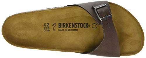 Birkenstock Herren Madrid Pantoletten, Various Braun (Pull Up Brown)