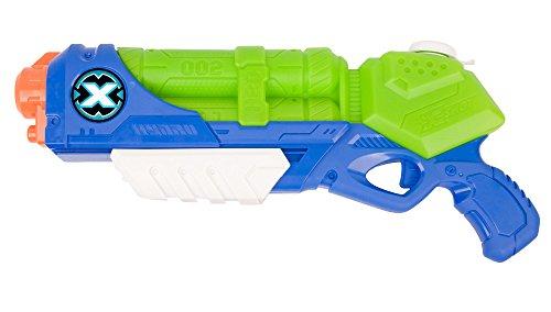 Zuru 1228 X-Shot Water Blaster Gun Medium Typhoon Thunder, Blue, Green Best Price and Cheapest