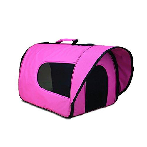 Deposito del gatto dell'animale domestico Pacchetto sacchetto del cane pacchetto uscire portatile dello zaino Teddy VIP Cani di piccola taglia Cat gabbia di viaggio ( colore : E , dimensioni : 42*30*27cm )