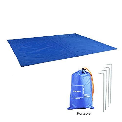 TOMSHOO Outdoor Picknickdecke, Picknick Matte Campingdecke Stranddecke Matte Decke Wasserdicht für Strände, Picknicks, Parks, Camping