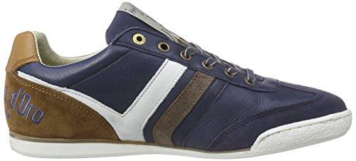 Pantofola d'Oro Loreto Retro, Baskets Basses homme Bleu - Blau (BLUE INDIGO)