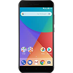 "Xiaomi Mi A1 - Smartphone 5.5 Free"" (4G, WiFi, Bluetooth, Snapdragon 625 2.0 GHz, 64 GB de ROM ampliable con microSD, 4 GB RAM, Dual chamber 12 Mp, Android One), negro [Spanish version]"