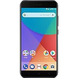 "Xiaomi Mi A1 - Smartphone libre de 5.5"" (4G, WiFi, Bluetooth, Snapdragon 625 2.0 GHz, 64 GB, 4 GB de RAM, Android One), Negro"
