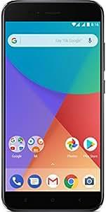 "Xiaomi Mi A1 - Smartphone libre de 5.5"" (4G, WiFi, Bluetooth, Snapdragon 625 2.0 GHz, 64 GB de ROM ampliable con microSD, 4 GB de RAM, cámara dual de 12 Mp, Android One), Black"