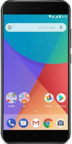 "Xiaomi Mi A1 - Smartphone 5.5 Free"" (4G, WiFi, Bluetooth, Snapdragon 625 2.0 GHz, 64 GB, 4 GB RAM, Android One), Negro"
