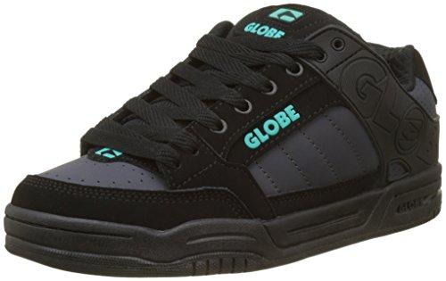 Globe Tilt, Chaussures de Skateboard Homme Multicolore (Black/Ebony/Teal)