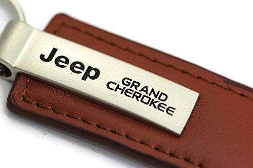 jeep-grand-cherokee-cuir-pour-porte-cles-porte-cles-forme-rectangulaire-marron