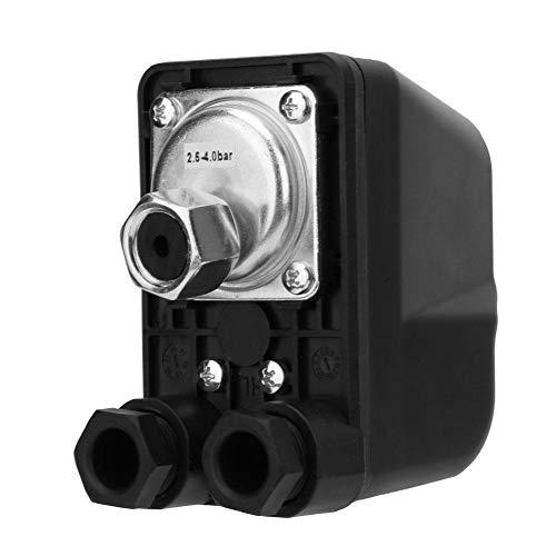 Wasserpumpen - Druckschalter, 250V G1 / 4'Wasserpumpen - Steuerschalter - Anzeigedruckregler Automatisch Geeignet für selbstansaugende Pumpen, Strahlpumpen, Gartenpumpen usw