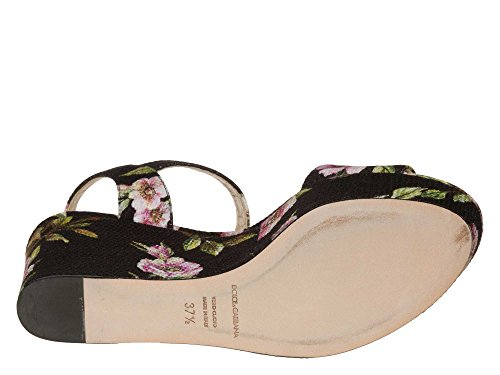 DOLCE&GABBANA Femmes Sandalettes Multicolore