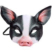 Schwein Maske Kinder Schweinemaske Kindermaske Ferkel Tiermaske Schweinchen