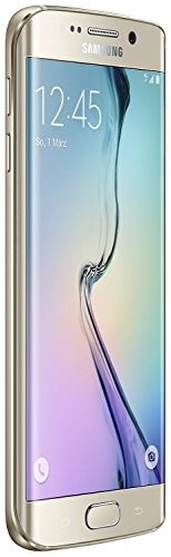 Samsung Galaxy S6 Edge Smartphone débloqué 4G (32 Go - Ecran : 5,1 pouces - Simple SIM - Android 5.0 Lollipop) Or