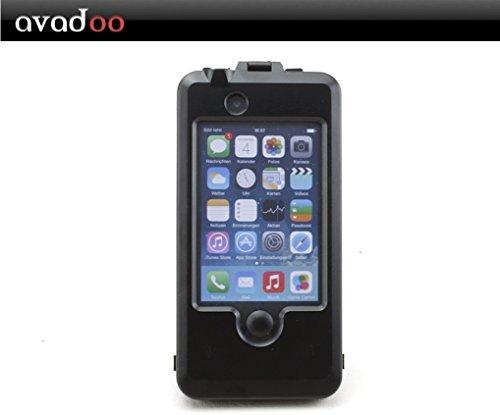 avadoo® iPhone 4/4S Bambus-/Ahornholz (dunkel) Case - Holz bumper Taschen Case Luxus Hülle Series von avadoo® für das iPhone 4/4S Bambus-/Ahornholz Jet Black
