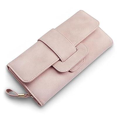 ZLR Mme portefeuille New Lady Wallet Short Paragraph Portefeuille en cuir pour femme à grande capacité