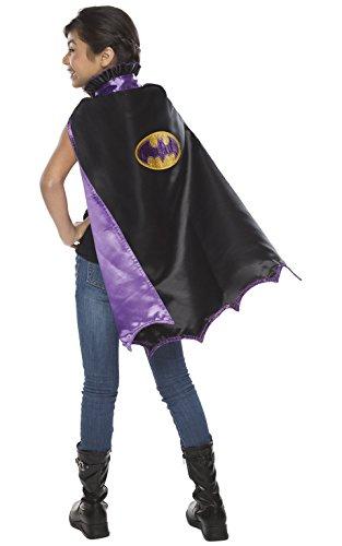 Cape Kostüm Batgirl - Rubie 's Offizielles DC Super Hero Verkleidung kann Man Batgirl Cape, Kinder Kostüm-EINE Größe