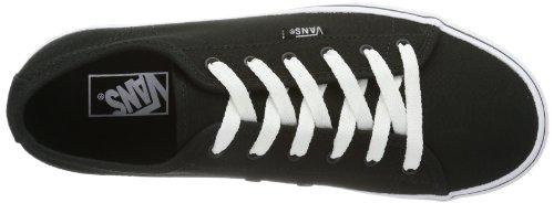 Vans Y Ferris (S14), Baskets mode mixte enfant Noir (Black/White)