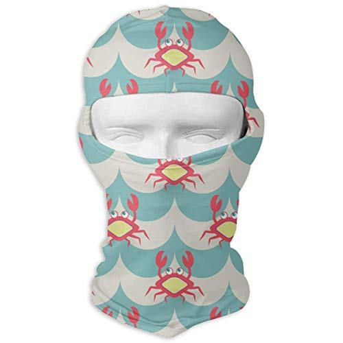 py Crabs Sea Animals Balaclava Face Mask for Cold Weather Windproof ()