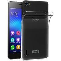 Funda Huawei Honor 6 , iVoler Slim Fit Huawei Honor 6 Funda Carcasa Case Bumper con Absorción de Impactos y Anti-Arañazos Espalda Case Cover para Huawei Honor 6 - Transparente