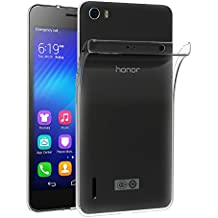 Cover Huawei Honor 6, iVoler Cover Huawei Honor 6 Silicone Case Molle di TPU Trasparente Sottile Custodia perHuawei Honor 6