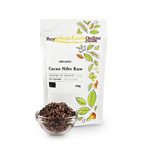 Organic Cacao Nibs (Raw) 125g (Buy Whole Foods Online Ltd.)