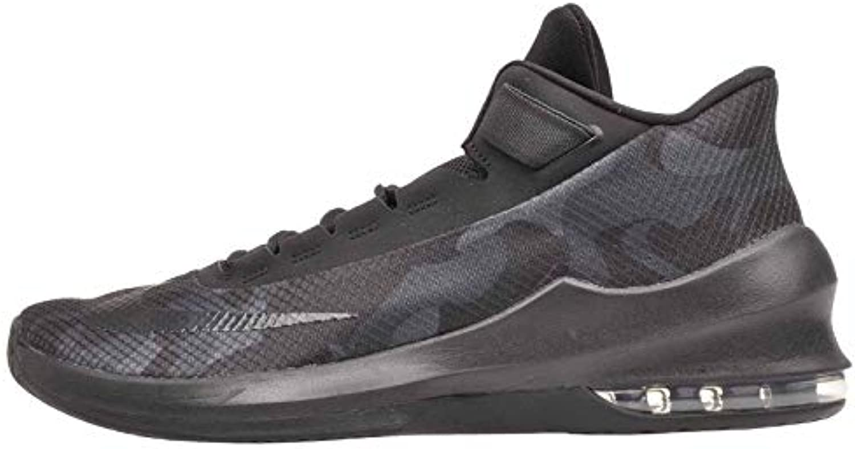 Nike Men's Air Max Infuriate Infuriate Infuriate 2 Mid Premium Basketball Shoe Black/Black-Black-Anthracite 11.5 | Nuovo Prodotto  | Shopping Online  | Uomo/Donne Scarpa  | Uomo/Donne Scarpa  ebeb77