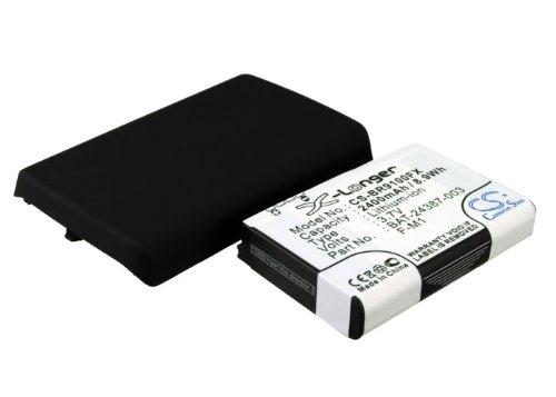 Ersatz-/ Erweiterungs- Akku für Blackberry Pearl 9100 (With Back Cover) Blackberry Pearl Battery Cover