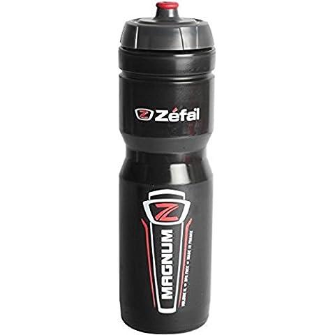 Zéfal Magnum - Bidón, color negro, talla 1 l