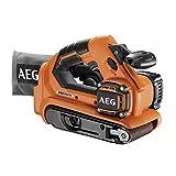 AEG BHBS18-75BL-0 Ponceuse à bande sans fil 18 V avec système d'aspiration de la...