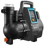 GARDENA Hauswasserautomat 4000/5E: Energiesparende Hauswasser- und Bewässerungspumpe mit innovativer Technik, einfache Bedienung, Fördermenge 4000 l/h, geräuscharmer Betrieb (1758-20)