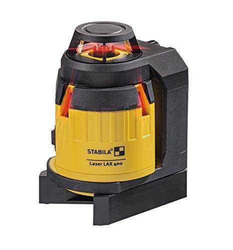STABILA Multilinien-Laser LAX 400, 5-teiliges Set