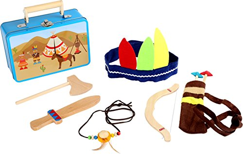 small foot 3922 Kinderkoffer Indianer-Set, mit Axt,