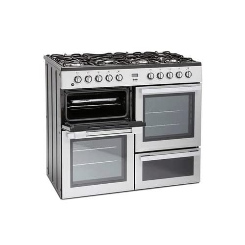 41dqmyD4YPL. SS500  - Montpellier MDF100S 100cm Dual Fuel Range Cooker - Silver