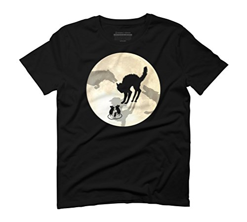 Moon Circle Of Life Men's Graphic T-Shirt - Design By Humans Black
