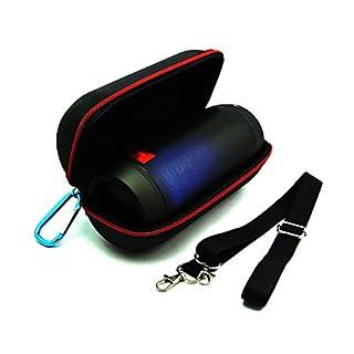 alisable 2016New Travel Reißverschluss Flip Portable Hard Tragetasche Schutzhülle Tasche für JBL Charge 2/Plus Wireless Bluetooth Lautsprecher £ ¨ schwarz £ ©