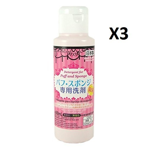 Daiso Japan Famous Cleaning Detergent For Markup Beauty Makeup Puff and Sponge By AMETSUS
