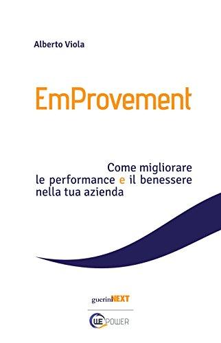 scaricare ebook gratis EmProvement. Come migliorare le performance e il benessere nella tua azienda PDF Epub