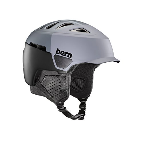 Bern Herren Helm Heist Hatstyle L Satin Grey