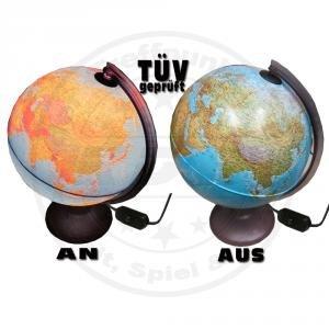 Speelgoed OR3TEOFL1G12 - Globe mit Licht, Deutsch