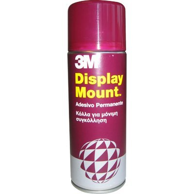 3M Adesivo Spray Display Mount/Colla Spray Extra Forte, Adesioni Affidabili e Immediate, 400 ml