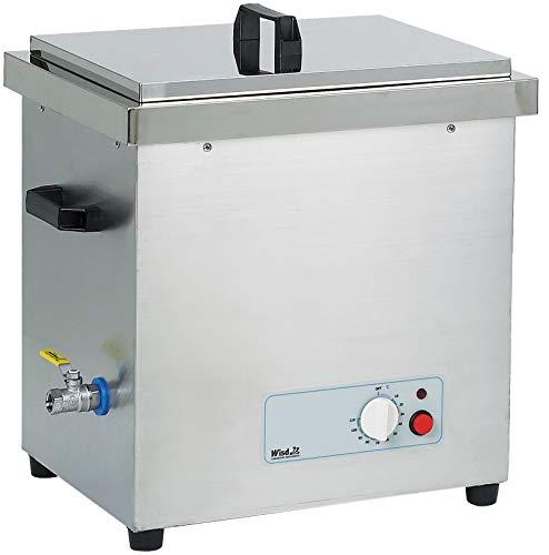 Witeg Ultraschallbad WUC-N60H 60L bis 105°C 40kHz, externe Steuerung, inkl. Flachdeckel, ideal zum Reiningen von Laborinstrumenten, ohne Korb
