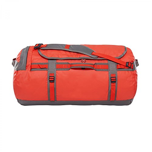The North Face - Base Camp - Sac de Sport - Mixte Adulte - Multicolore (Acrylic Orange/Falcon Brown) - Taille Large