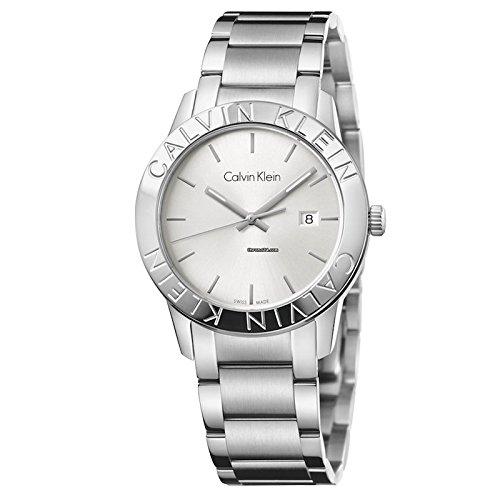 2fefbb15fb32 Calvin Klein steady K7Q21146 Reloj de Pulsera para hombres Fabricado en  Suiza ...